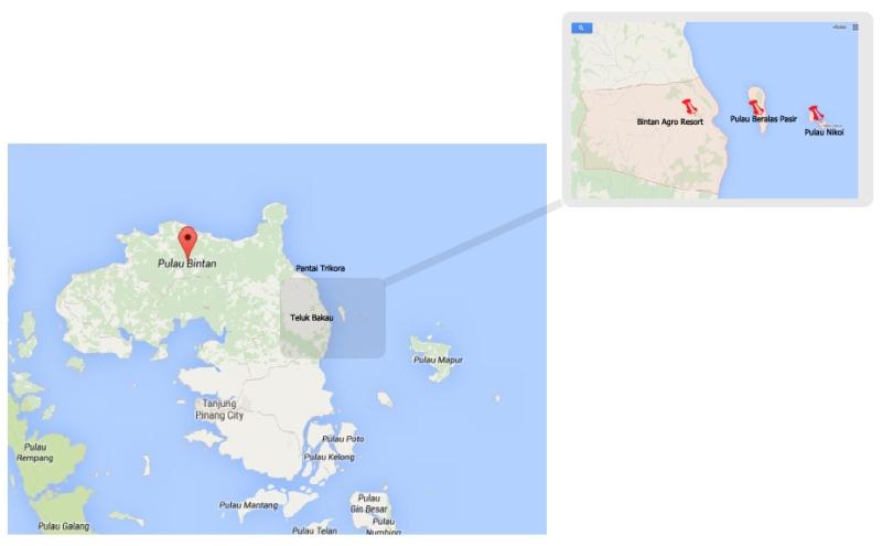 Beralas map